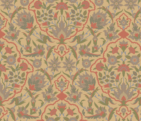 Serpentine 607 a fabric by muhlenkott on Spoonflower - custom fabric