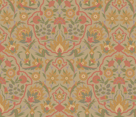 Serpentine 607c fabric by muhlenkott on Spoonflower - custom fabric