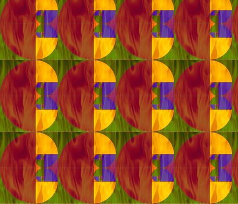 fibo_on_fire fabric by elephant_booty_studio on Spoonflower - custom fabric