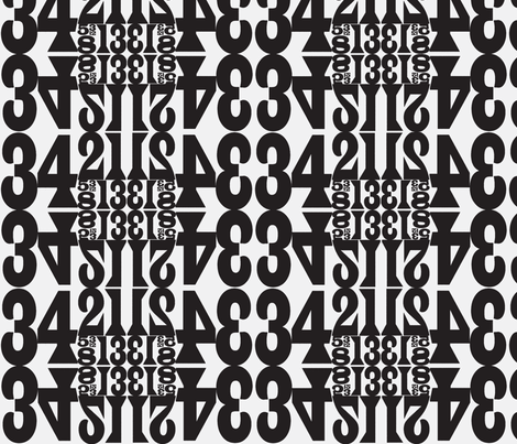 fibonacci_b_w fabric by elephant_booty_studio on Spoonflower - custom fabric