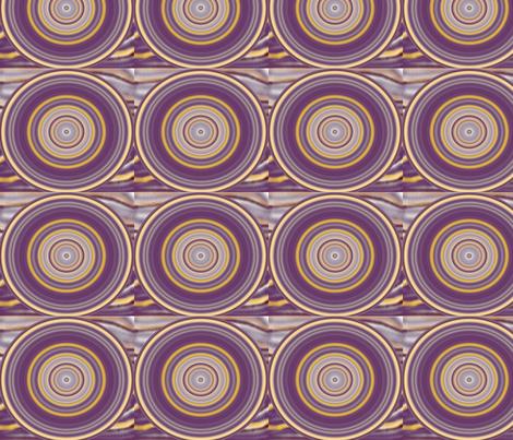 purplerock_circles fabric by elephant_booty_studio on Spoonflower - custom fabric