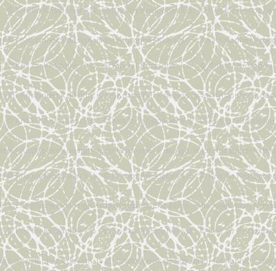 Ink Bubbles - Silver Birch