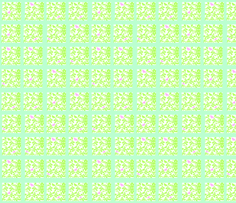 PINK_DAMASK_SQUARE_DOT_-_BLUE_COLORWAY_copy fabric by petunias on Spoonflower - custom fabric