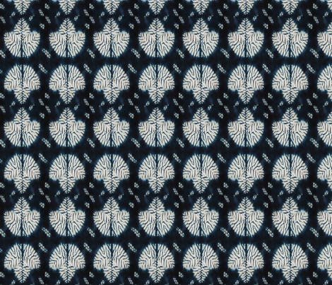 Mokume Shibori Leaf fabric by elephant_booty_studio on Spoonflower - custom fabric