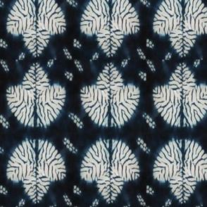 Mokume Shibori Leaf