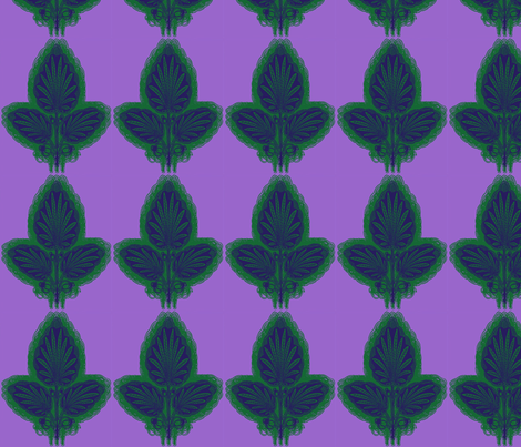 large_leaf_1 fabric by elephant_booty_studio on Spoonflower - custom fabric