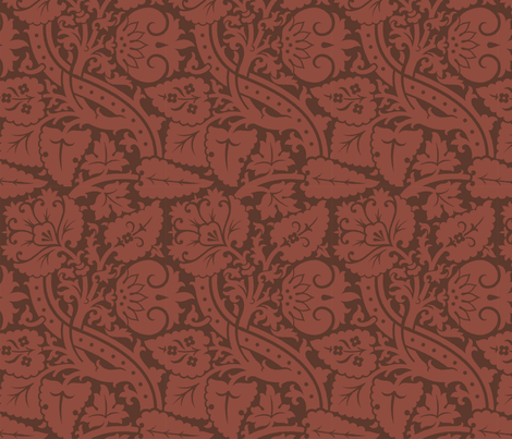 Damask 6a fabric by muhlenkott on Spoonflower - custom fabric