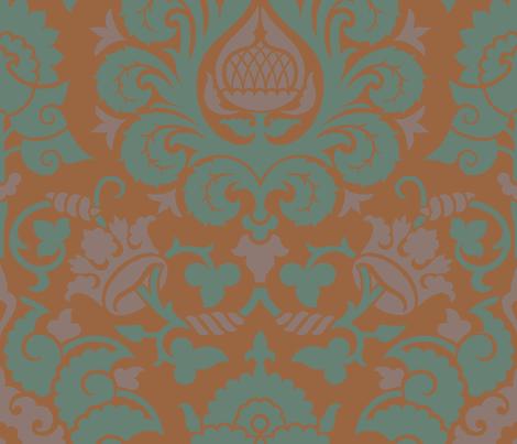 Damask 4b fabric by muhlenkott on Spoonflower - custom fabric