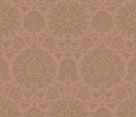 Damask 4d fabric by muhlenkott on Spoonflower - custom fabric