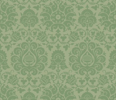 Damask 4e fabric by muhlenkott on Spoonflower - custom fabric
