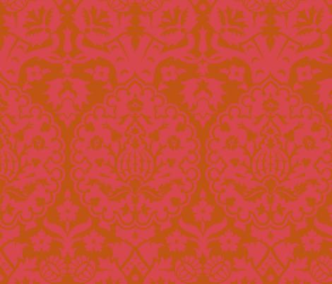 Damask 5d fabric by muhlenkott on Spoonflower - custom fabric