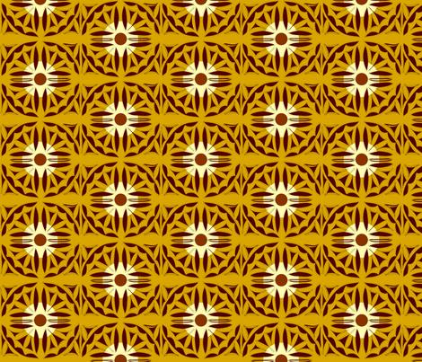 brown_tan_rust fabric by yasmintoo on Spoonflower - custom fabric