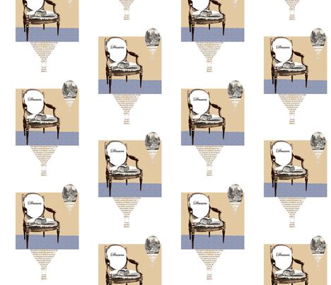Dream Chair fabric by karenharveycox on Spoonflower - custom fabric