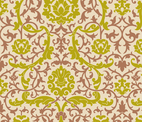 Serpentine 2c fabric by muhlenkott on Spoonflower - custom fabric