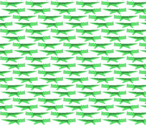 alligator fabric by anda on Spoonflower - custom fabric