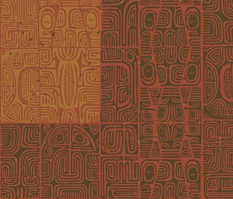 Marquesan 1a fabric by muhlenkott on Spoonflower - custom fabric