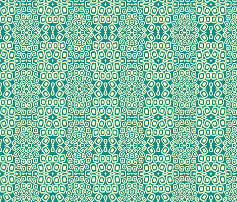 floating geometry fabric by joybea on Spoonflower - custom fabric