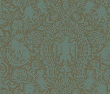 Damask 3c fabric by muhlenkott on Spoonflower - custom fabric