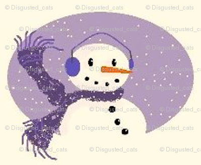 Cheery Snowman