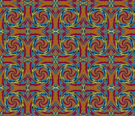 Desert Bloom II fabric by elephant_booty_studio on Spoonflower - custom fabric