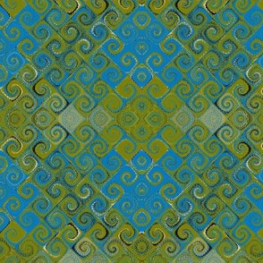 Turquoise Tile I