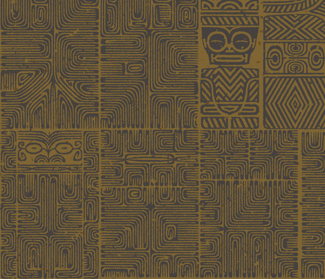 Marquesan 5b fabric by muhlenkott on Spoonflower - custom fabric