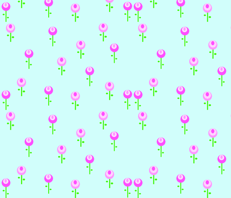 cow_flowers_copy fabric by petunias on Spoonflower - custom fabric
