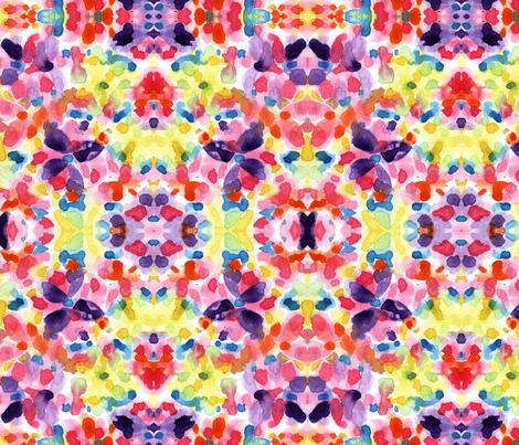 watercolor fabric by lindaedkinswyatt on Spoonflower - custom fabric