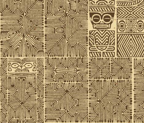 Marquesan 6a fabric by muhlenkott on Spoonflower - custom fabric