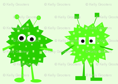 3_monsters_-_green
