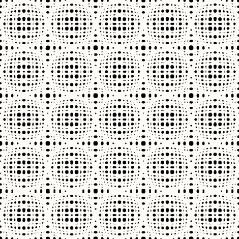 Disco Dots - Night fabric by kristopherk on Spoonflower - custom fabric