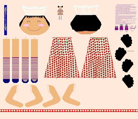 Nurse Berry fabric by blueberryblonde on Spoonflower - custom fabric