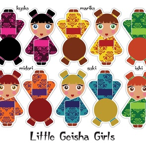 Little Geisha Girls