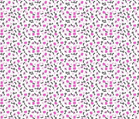 Handbag_shoe_print_ fabric by rocking_horse_prints_ on Spoonflower - custom fabric