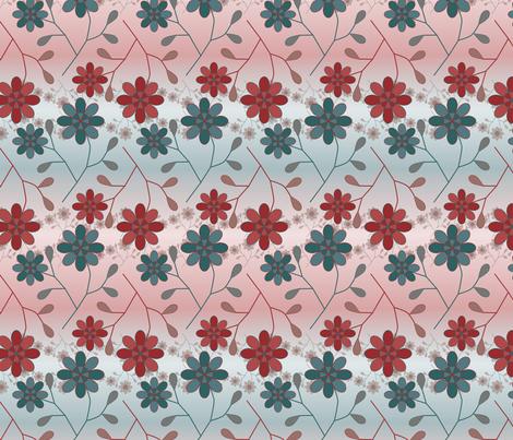 Flowerfade fabric by jasmo on Spoonflower - custom fabric