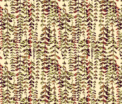Sprout: Allover fabric by bronhoffer on Spoonflower - custom fabric