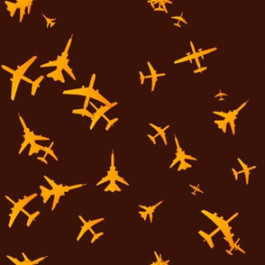 Flight-Yellow and gold