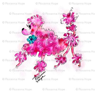 Peppie la Pink Poodle