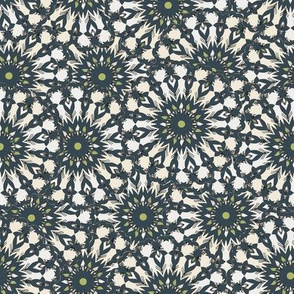 Field of Flowers - Sea Blue/Green