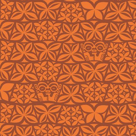 Aloha Flowers 4a fabric by muhlenkott on Spoonflower - custom fabric