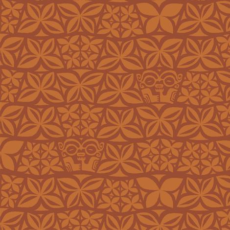 Aloha Flowers 4c fabric by muhlenkott on Spoonflower - custom fabric
