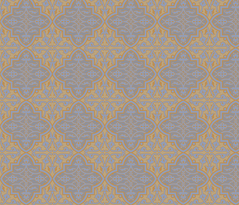 Tile 886c fabric by muhlenkott on Spoonflower - custom fabric