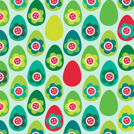 Red Egg fabric by spellstone on Spoonflower - custom fabric