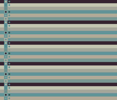 Blues Border Fabric fabric by sonny on Spoonflower - custom fabric