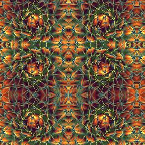 EDgreen and orange