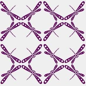 Dragonfly Dance -  Plum