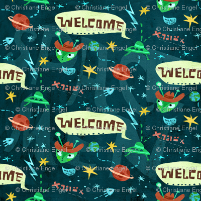 Aliens Welcome!