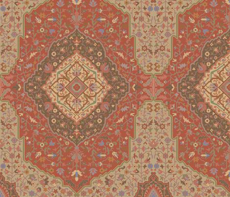 Rug 501a fabric by muhlenkott on Spoonflower - custom fabric