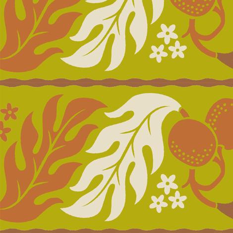 Breadfruit 1b fabric by muhlenkott on Spoonflower - custom fabric