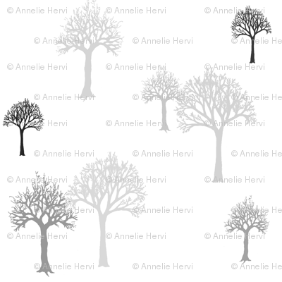 TreesGrayshades